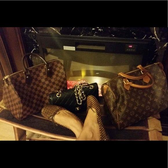 7fd47dc66dc2 Louis Vuitton Shoes - Preloved Authentic Louis Vuitton Damier doll shoes